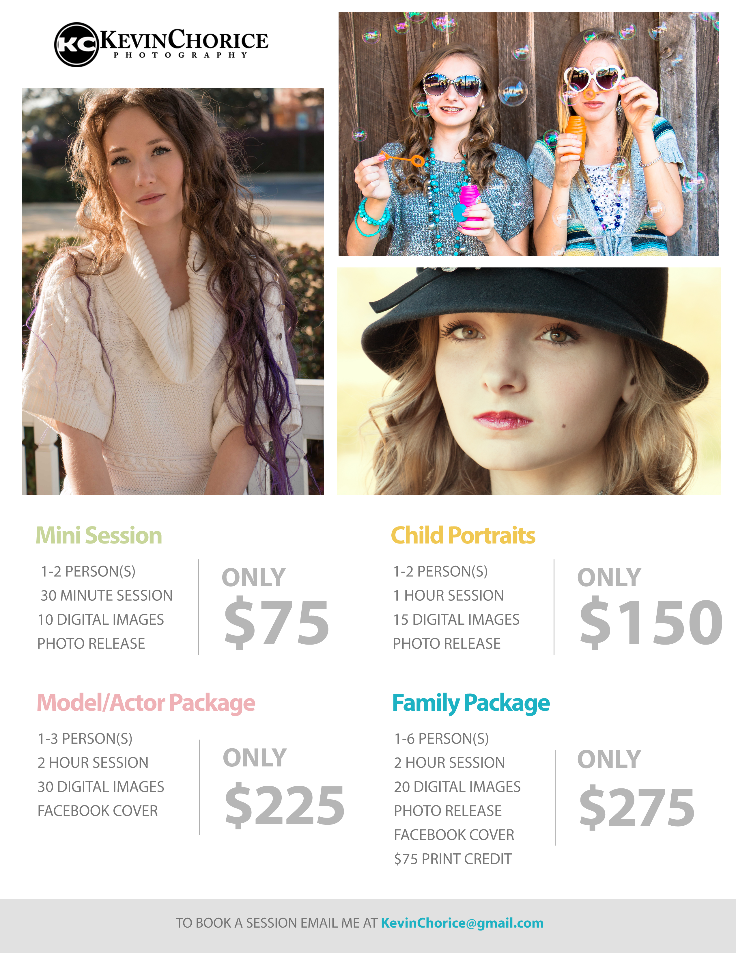 PackagePricing for Facebook